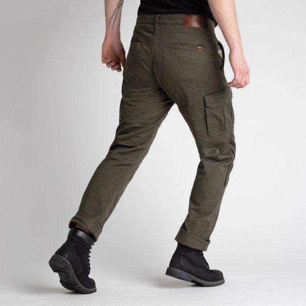 spodnie jeans broger alaska sand w28l34 GREEN 1 Sklep Motocyklowy Wrocław