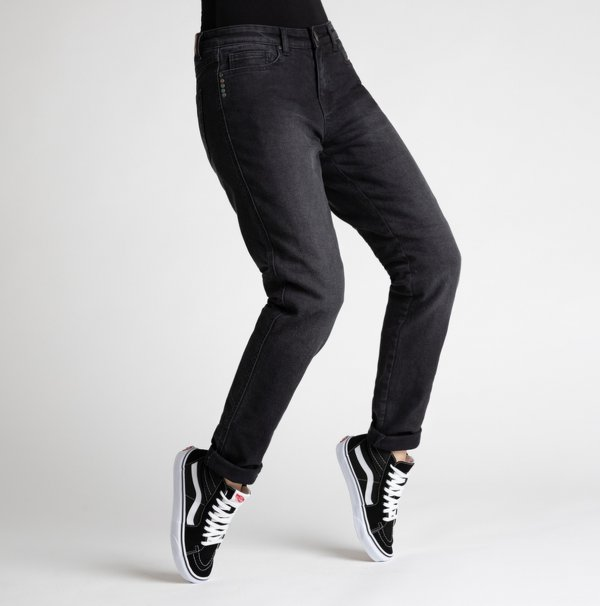 spodnie jeans broger california lady washed BLACK Sklep Motocyklowy Wrocław