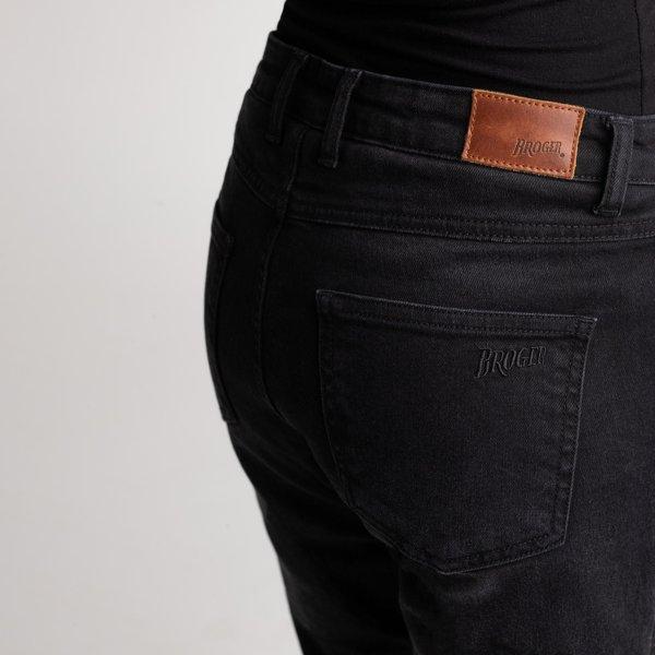 spodnie jeans broger california lady washed BLACK 2 Sklep Motocyklowy Wrocław