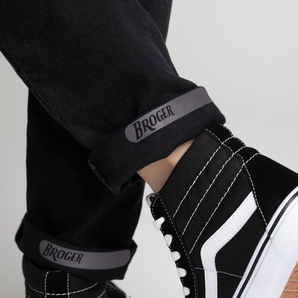 spodnie jeans broger california lady washed BLACK 3 Sklep Motocyklowy Wrocław
