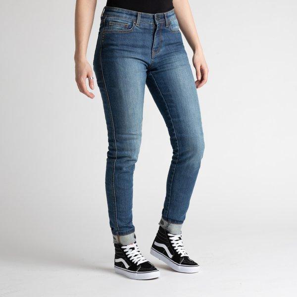 spodnie jeans broger california lady washed BLUE Sklep Motocyklowy Wrocław