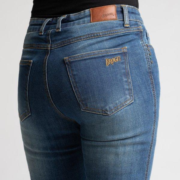 spodnie jeans broger california lady washed BLUE 2 Sklep Motocyklowy Wrocław