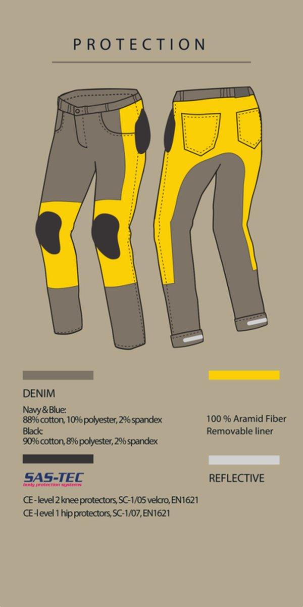 spodnie jeans broger california washed 4 Sklep Motocyklowy Wrocław