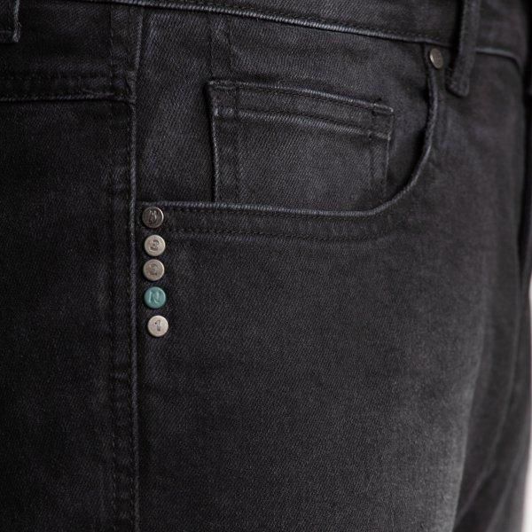 spodnie jeans broger california washed BLACK 2 Sklep Motocyklowy Wrocław