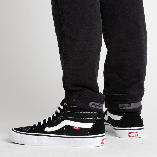 spodnie jeans broger california washed BLACK 3 Sklep Motocyklowy Wrocław
