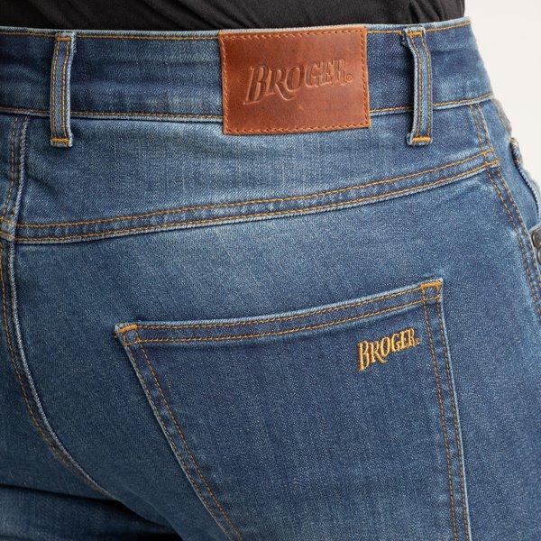 spodnie jeans broger california washed BLUE 2 Sklep Motocyklowy Wrocław