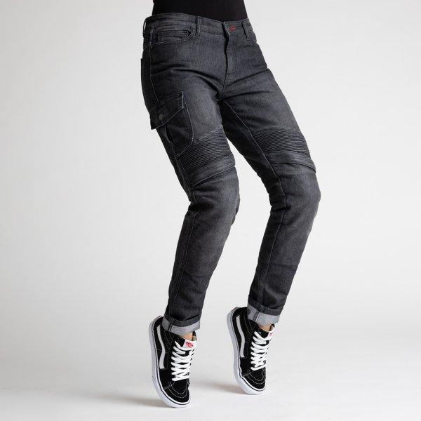 spodnie jeans broger ohio lady washed BLACK Sklep Motocyklowy Wrocław