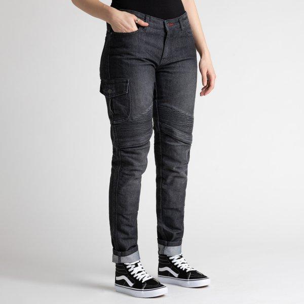 spodnie jeans broger ohio lady washed BLACK 1 Sklep Motocyklowy Wrocław