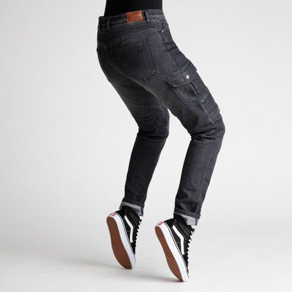 spodnie jeans broger ohio lady washed BLACK 2 Sklep Motocyklowy Wrocław