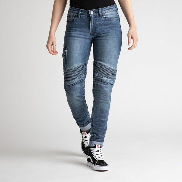 spodnie jeans broger ohio lady washed BLUE Sklep Motocyklowy Wrocław
