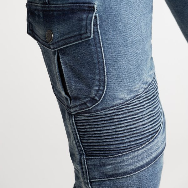spodnie jeans broger ohio lady washed BLUE 3 Sklep Motocyklowy Wrocław