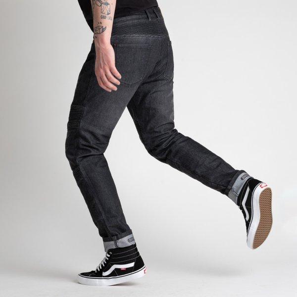 spodnie jeans broger ohio washed BLACK 1 Sklep Motocyklowy Wrocław