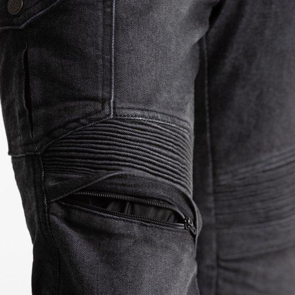 spodnie jeans broger ohio washed BLACK 2 Sklep Motocyklowy Wrocław