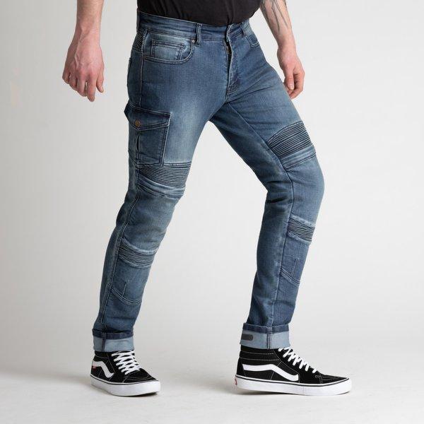 spodnie jeans broger ohio washed BLUE Sklep Motocyklowy Wrocław