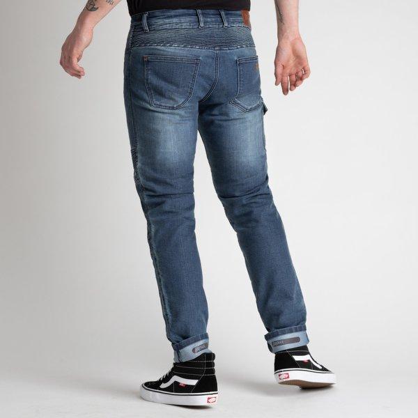 spodnie jeans broger ohio washed BLUE 1 Sklep Motocyklowy Wrocław