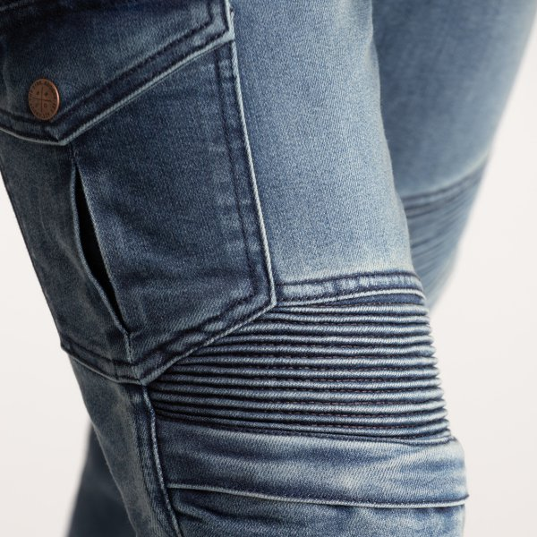 spodnie jeans broger ohio washed BLUE 2 Sklep Motocyklowy Wrocław
