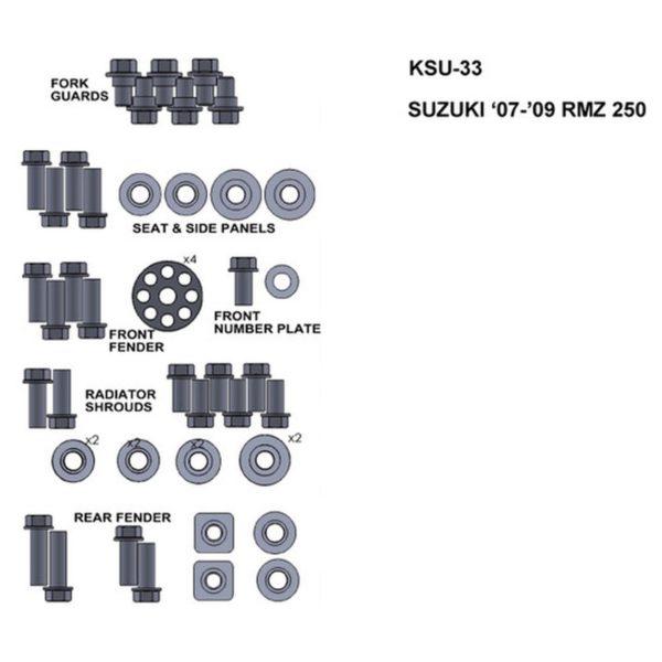 zestaw srub keiti do suzuki 07 09 rmz 250 Sklep Motocyklowy Wrocław