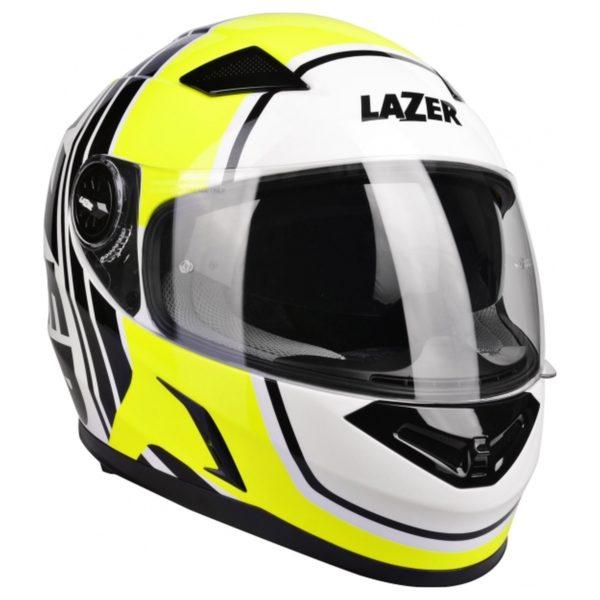 kask motocyklowy lazer bayamo race spirit kol YELLOW Sklep Motocyklowy Wrocław