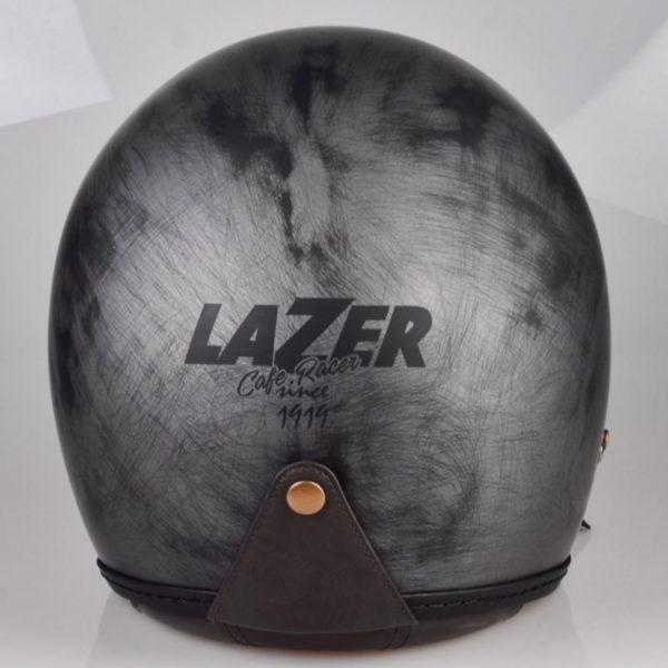 kask motocyklowy lazer mambo evo cafe racer kol szczotkowane aluminium BLACK 4 Sklep Motocyklowy Wrocław