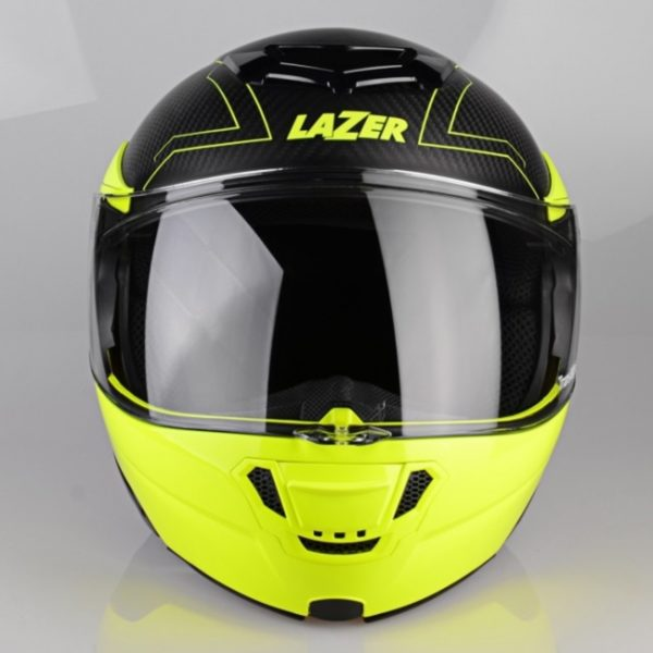 kask motocyklowy lazer monaco evo droid pure carbon YELLOW 3 Sklep Motocyklowy Wrocław