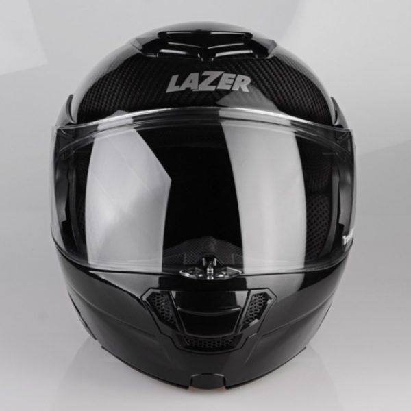kask motocyklowy lazer monaco evo pure carbon BLACK 3 Sklep Motocyklowy Wrocław