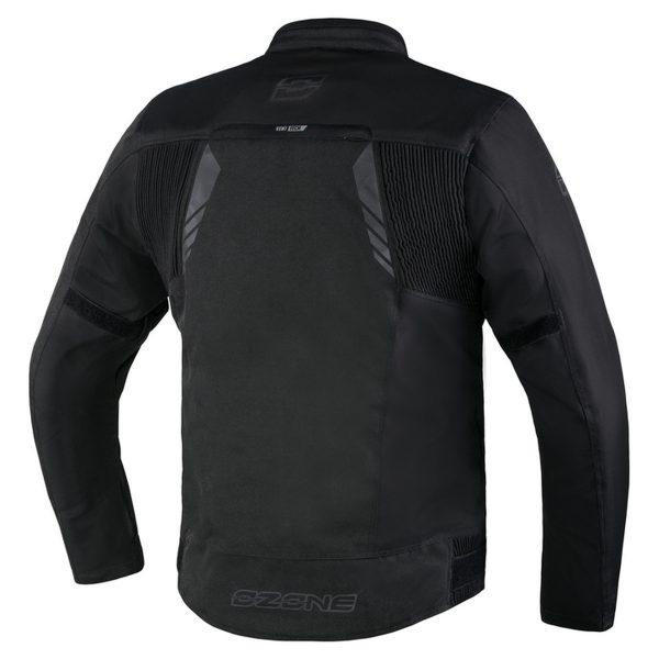 kurtka tekstylna ozone delta iv BLACK 1 Sklep Motocyklowy Wrocław
