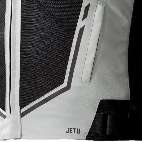 kurtka tekstylna ozone jet ii ice 2 BLACK 2 Sklep Motocyklowy Wrocław