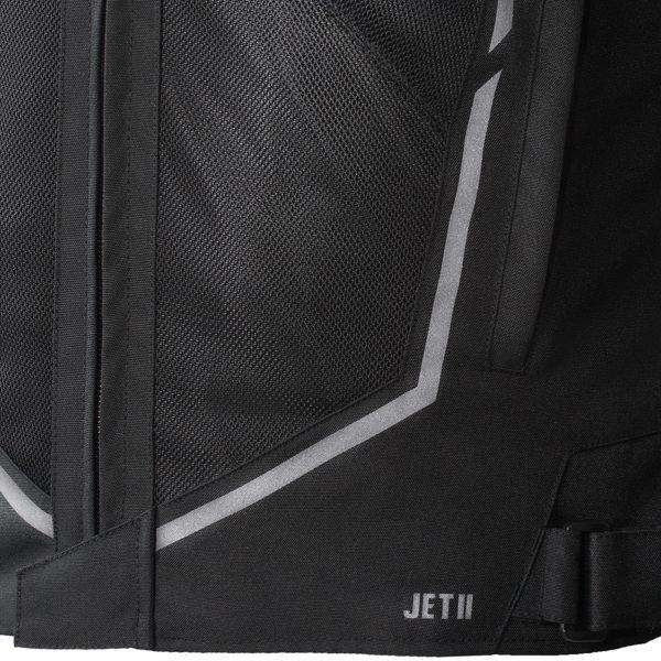 kurtka tekstylna ozone jet ii BLACK 2 Sklep Motocyklowy Wrocław