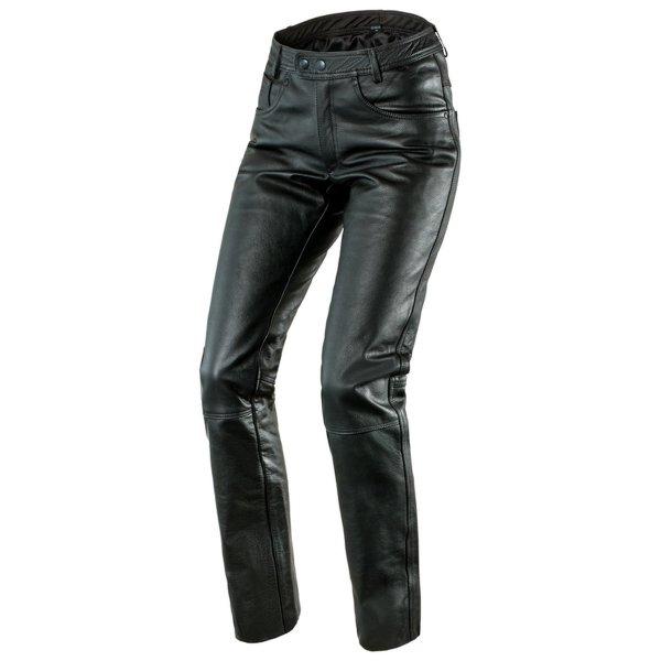 spodnie skorzane ozone daft BLACK Sklep Motocyklowy Wrocław