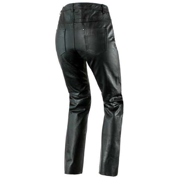 spodnie skorzane ozone daft BLACK 1 Sklep Motocyklowy Wrocław