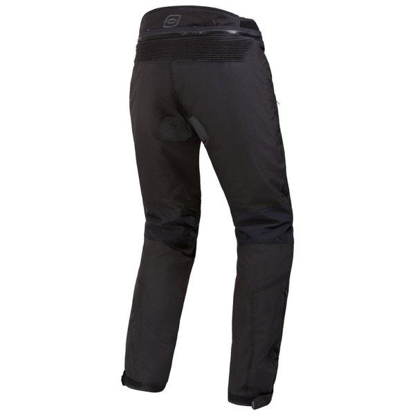 spodnie tekstylne ozone vulcan BLACK 1 Sklep Motocyklowy Wrocław