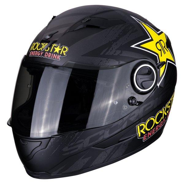 EXO 490ROCKSTAR BLACK Sklep Motocyklowy Wrocław