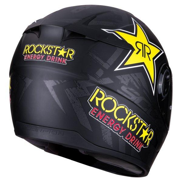 EXO 490ROCKSTAR BLACK 1 Sklep Motocyklowy Wrocław