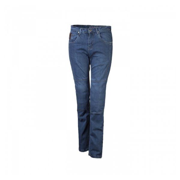 spodnie jeansowe lookwell denim 501 damskie standardowe jasne BLUE Sklep Motocyklowy Wrocław