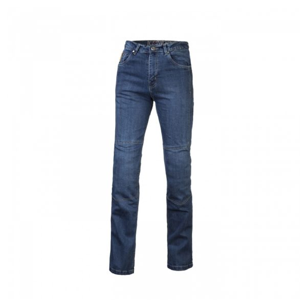 spodnie jeansowe lookwell denim 501 meskie krotkie jasne BLUE Sklep Motocyklowy Wrocław