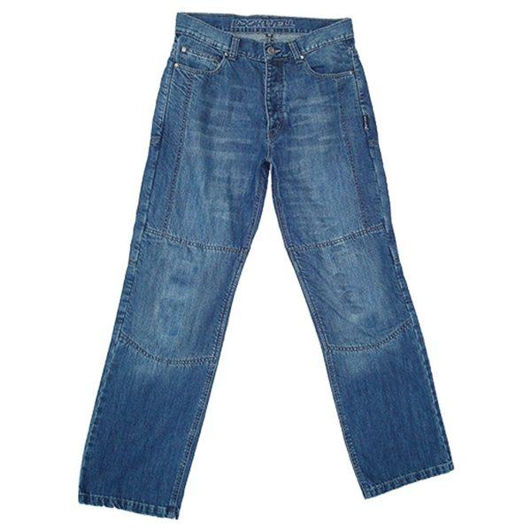 spodnie jeansowe lookwell denim 501 meskie krotkie BLUE Sklep Motocyklowy Wrocław