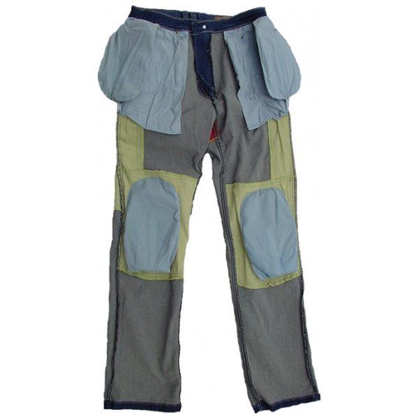 spodnie jeansowe lookwell denim 501 meskie krotkie BLUE 1 Sklep Motocyklowy Wrocław