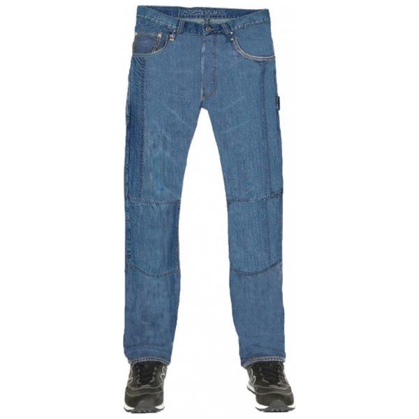 spodnie jeansowe lookwell denim 501 meskie krotkie BLUE 2 Sklep Motocyklowy Wrocław